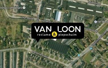 Google Maps Van Loon Belettering