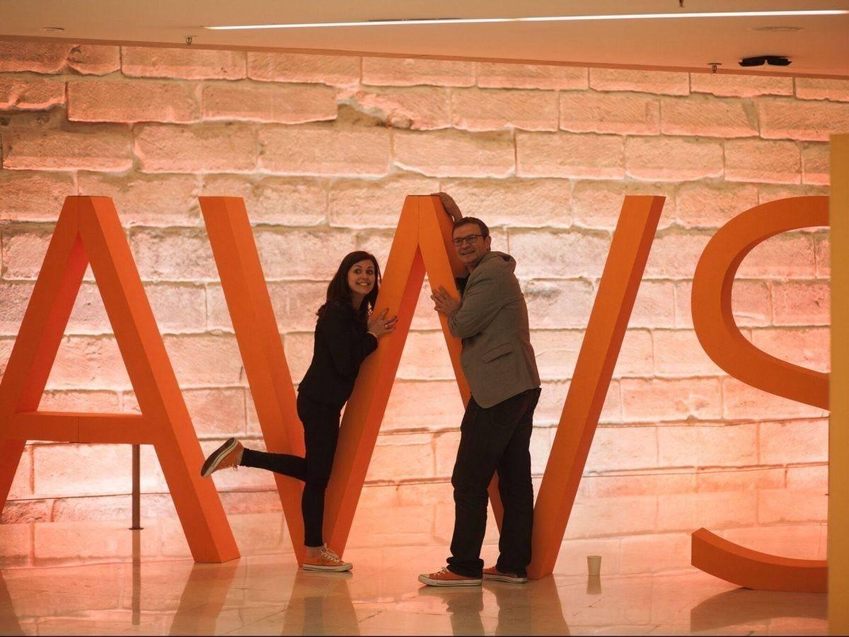 Piepschuim letters AWS