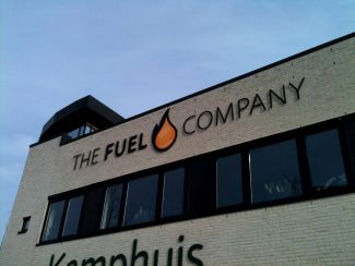Gevelreclame The Fuel Company