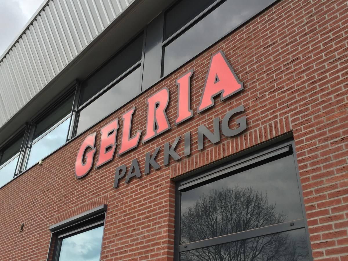 Gevelreclame Gelria Pakking