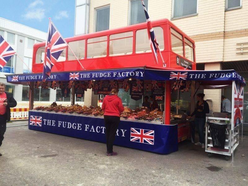 Buitenreclame The Fudge Factory