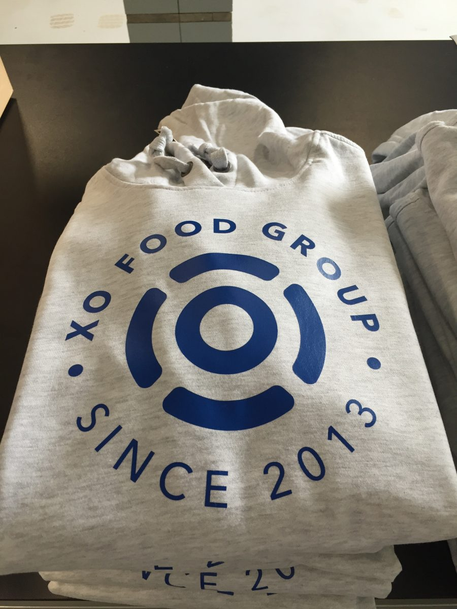 XO Food Group kleding bedrukken