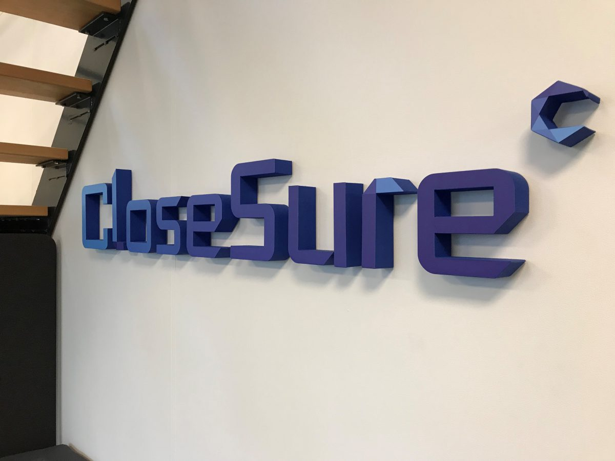 Piepschuim logo CloseSure