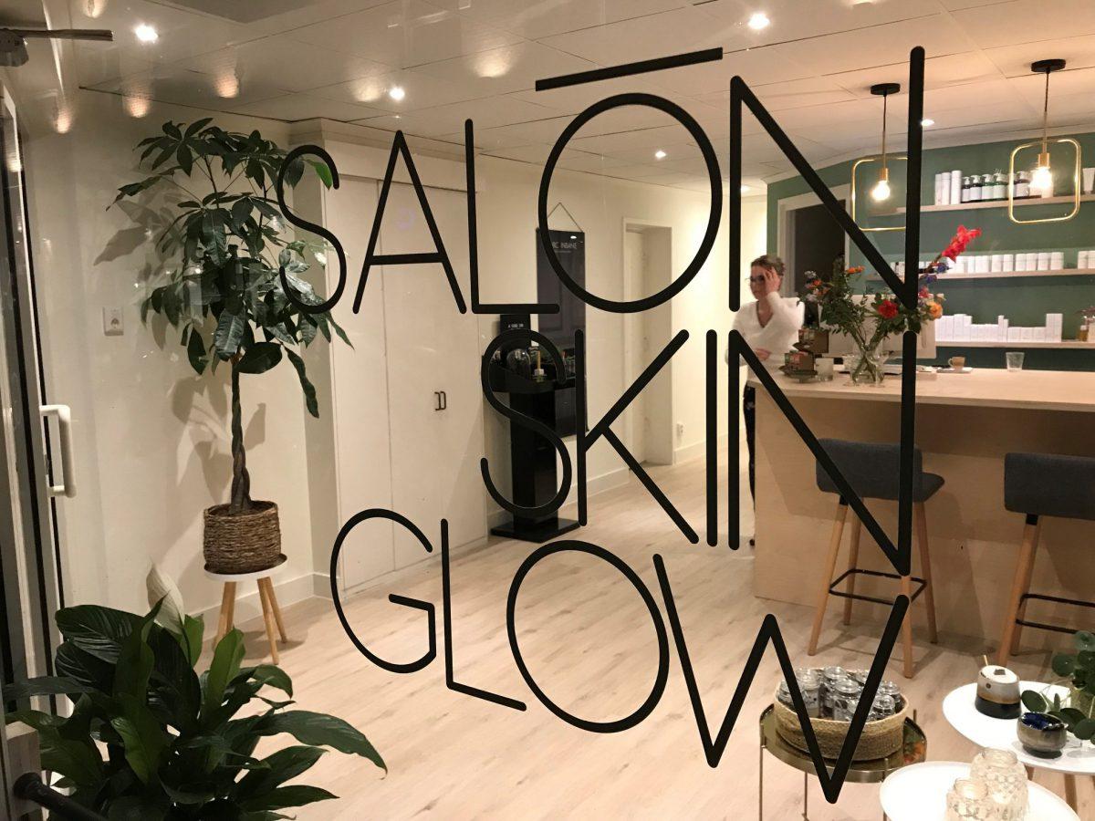 Piepschuim logo's Skin Glow Hengelo