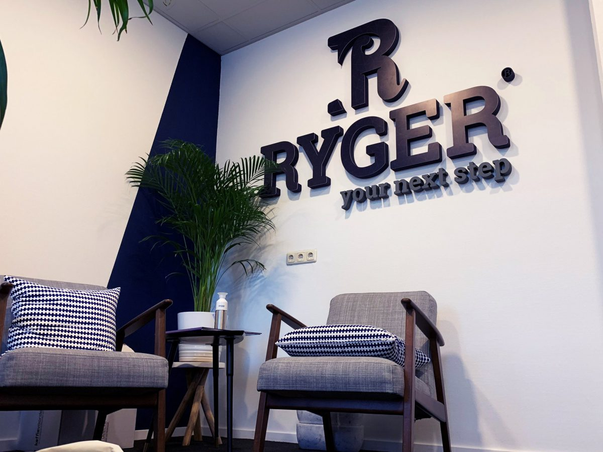 Muurreclame Ryger